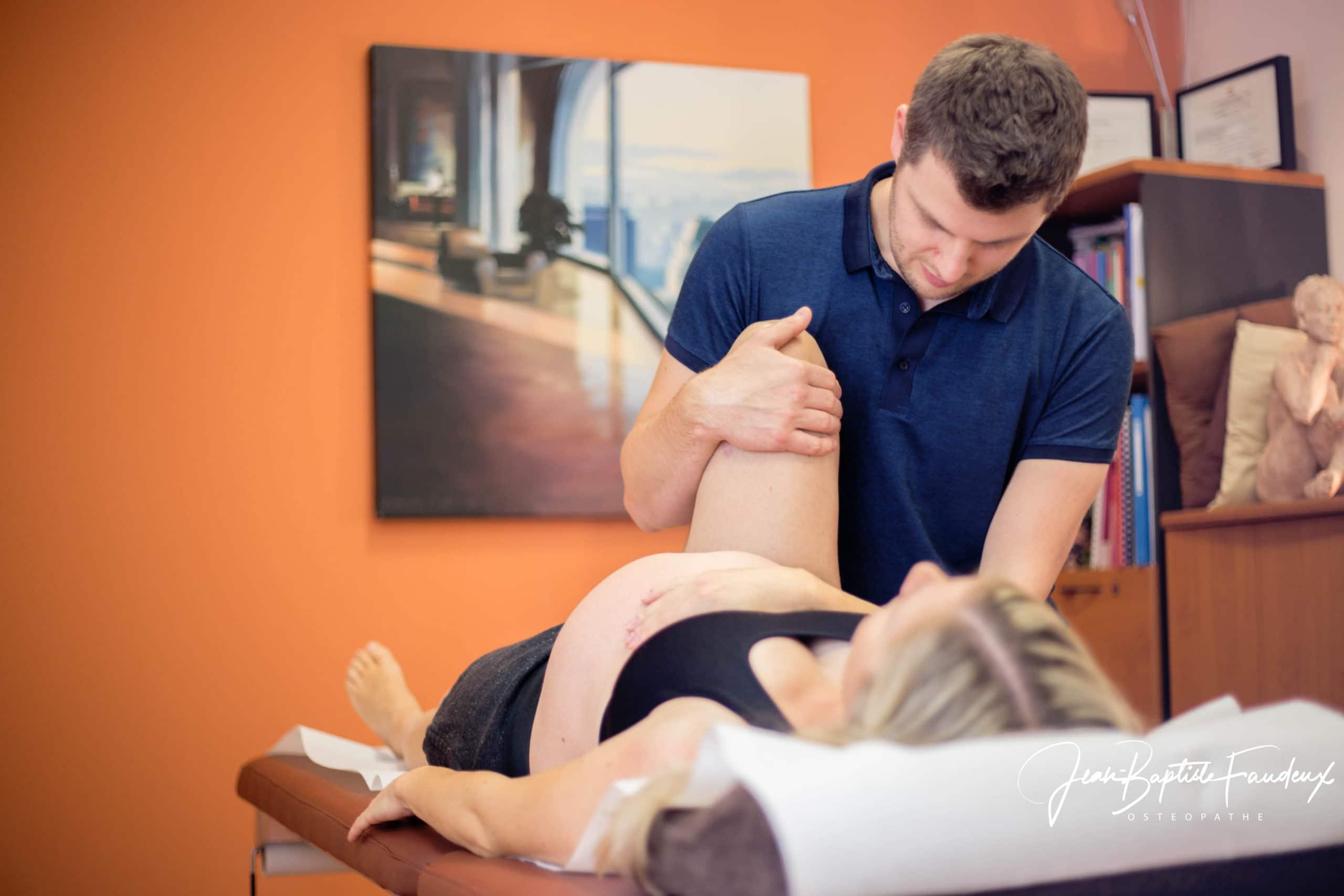 Osteopathe Le Havre FAUDEUX ostéopathie périnatale préparation accouchement